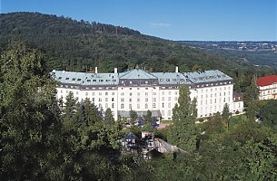 Hotel Radium Palace in St. Joachimsthal Tschechien