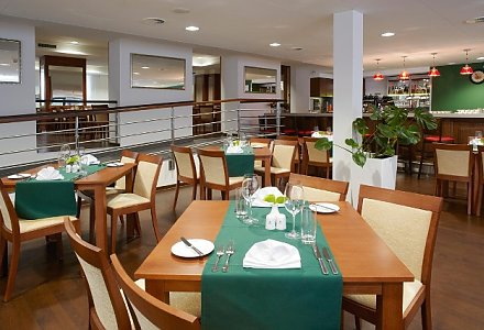 Restaurant im Spa und Kur Hotel Harvey in Franzensbad