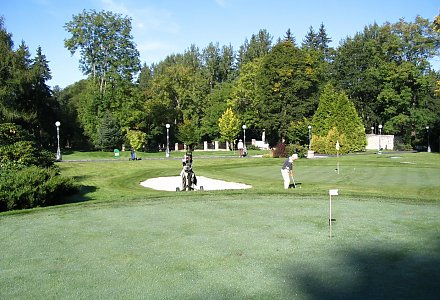 Pitch and Put Golfplatz im Parkhotel Golf in Marienbad