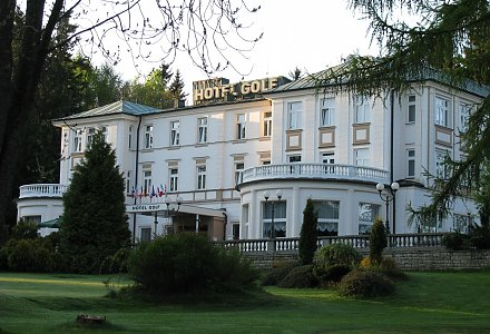 Parkhotel Golf in Marienbad