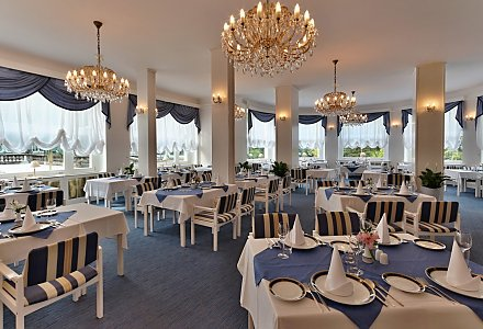 Restaurant im Parkhotel Golf in Marienbad