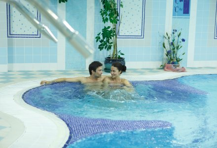Whirlpool im Ensana Health Spa Hotel Pacifik in Marienbad