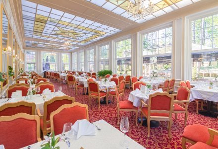 Restaurant im Spa Resort PAWLIK-AQUAFORUM in Franzensbad