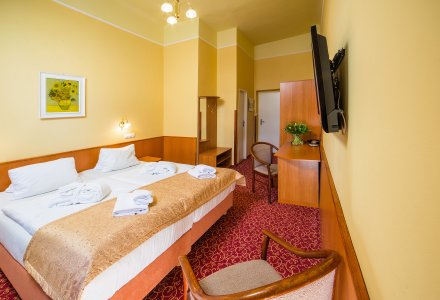 Doppelzimmer Standard (B) im Spa Resort PAWLIK-AQUAFORUM in Franzensbad