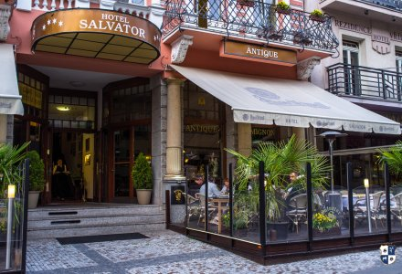 Hotel Salvator in Karlsbad