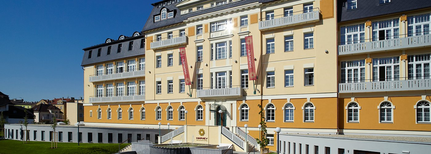 Spa und Kurhotel Harvey in Franzensbad